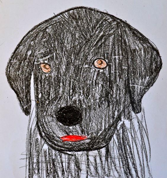 Redzīgo bērnu zīmējumi 1