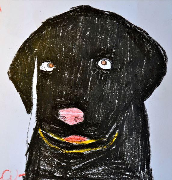 Redzīgo bērnu zīmējumi 2
