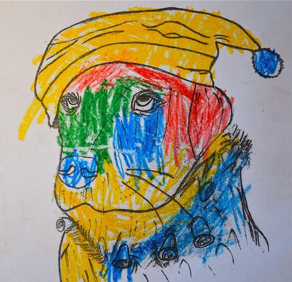 Redzīgo bērnu zīmējumi 7