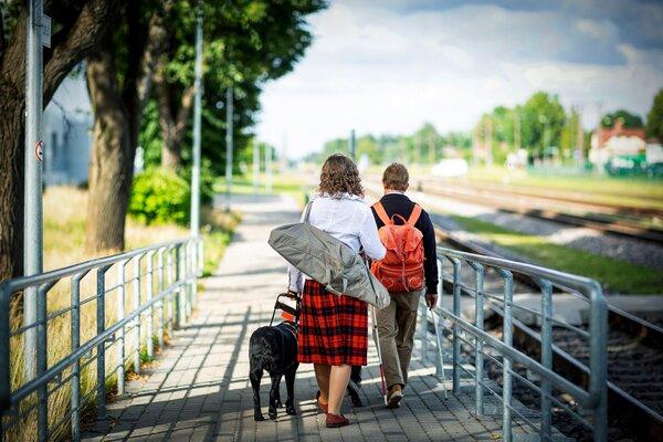 Zane un Beāte. Foto Karīna Jurciņa